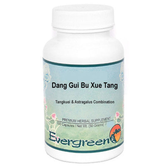 Picture of Dang Gui Bu Xue Tang Evergreen Capsules 100's
