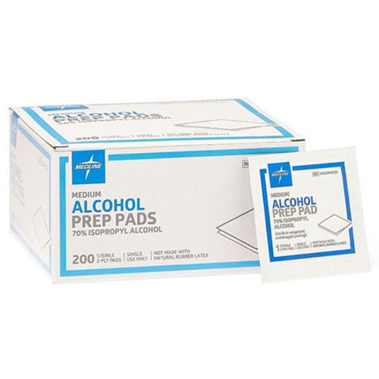 Picture of Alcohol Prep Pads box of 200