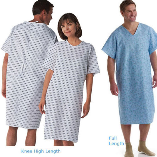 Picture of Cloth Patient Gowns