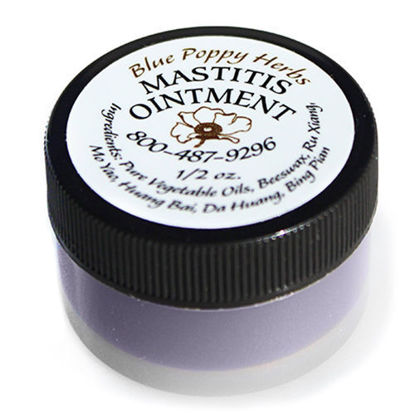 Picture of Mastitis Ointment 1/2 oz, Blue Poppy