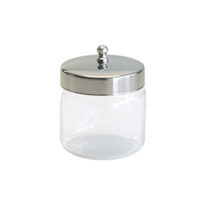 """Picture of Glass Applicator Jar 3"""" x 3"""""""