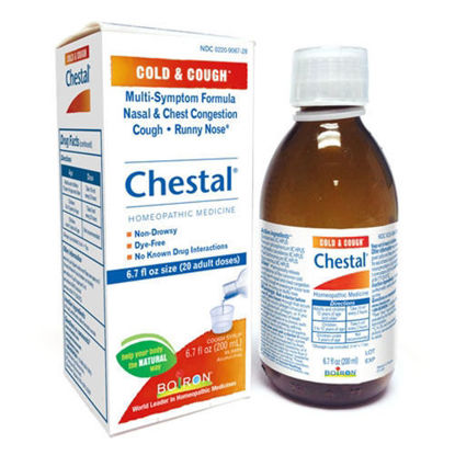 Picture of Chestal Cough Syrup Boiron 6.7 oz.