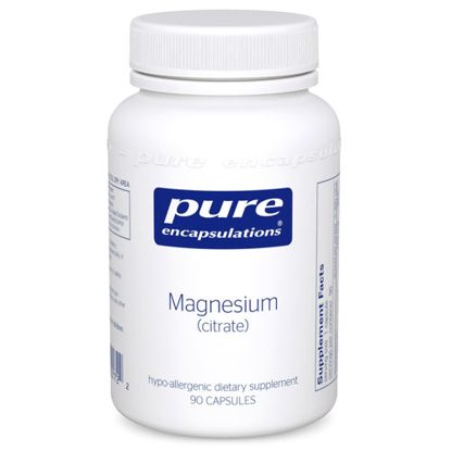 Picture of Magnesium (citrate) 90ct., 150mg Pure Encapsulations