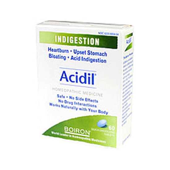 Picture of Acidil tablets Boiron 60's