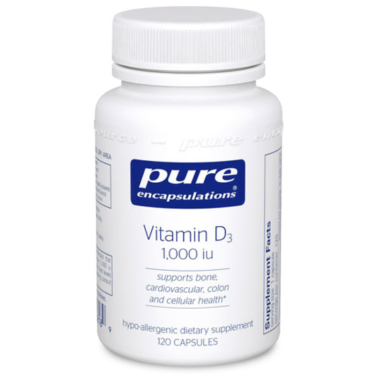 Picture of Vitamin D3 by Pure Encapsulations