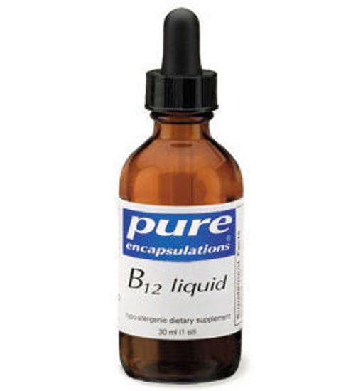 Picture of B12 Liquid, Pure Encapsulations (B12L)