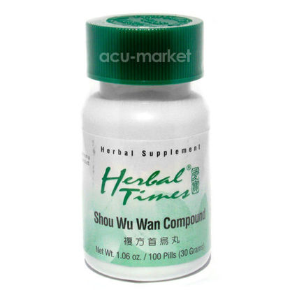 Picture of Shou Wu Wan Compound, Herbal Times®