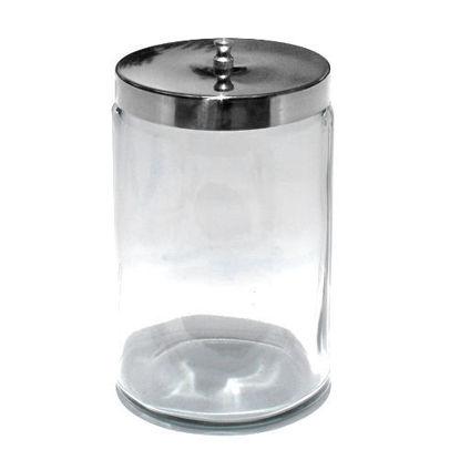 "Picture of Glass Applicator Jar, 6.75"" H x 3"" dia."