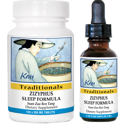 Picture of Zizyphus Sleep Formula by Kan