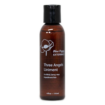 Picture of Three Angels Liniment 4 oz, Blue Poppy