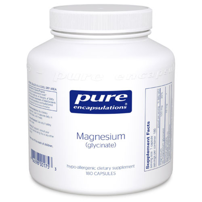 Picture of Magnesium (glycinate) 120mg by Pure Encapsulations