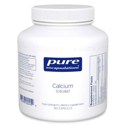 Picture of Calcium (citrate) 180's, Pure Encapsulations