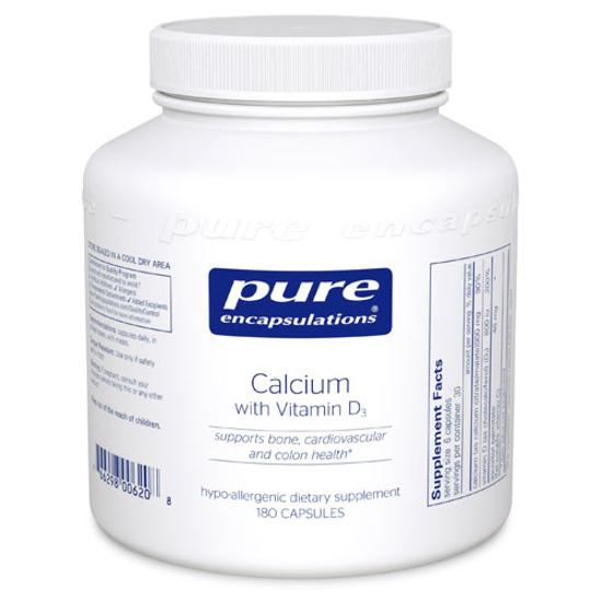 Picture of Calcium with Vitamin D3 180's, Pure Encapsulations