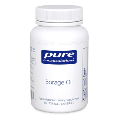 Picture of Borage Oil 1000mg Softgel 60's, Pure Encapsulations