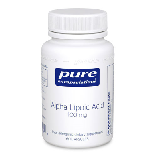Picture of Alpha Lipoic Acid 60's, Pure Encapsulations