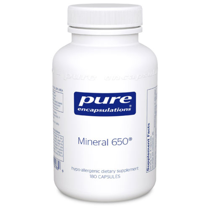 Picture of Mineral 650 180's, Pure Encapsulations