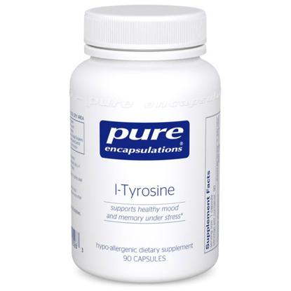 Picture of L Tyrosine 90's, Pure Encapsulations (LT59)