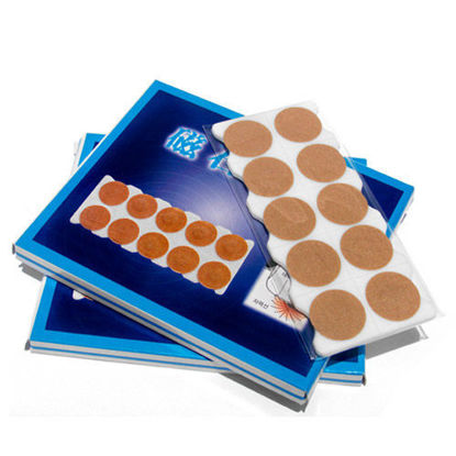 Picture of Press Needle Magnetic 40pcs 650 gauss Tan Plaster
