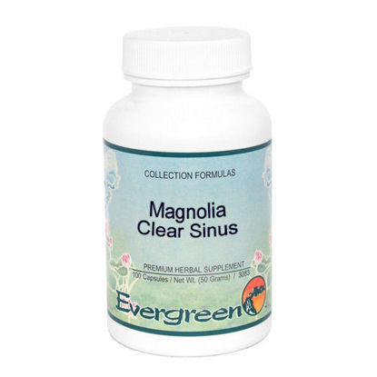 Picture of Magnolia Clear Sinus - Evergreen Caps 100ct