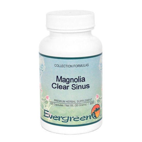 Picture of Magnolia Clear Sinus - Evergreen Caps 100ct