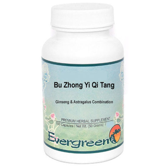 Picture of Bu Zhong Yi Qi Tang Evergreen Capsules 100's