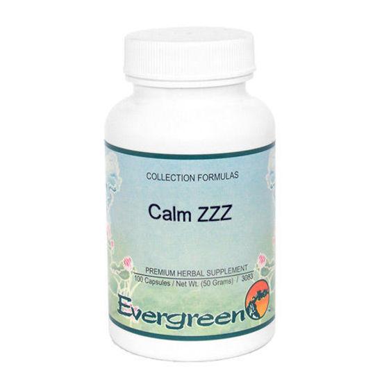 Picture of Calm ZZZ - Evergreen Caps 100ct