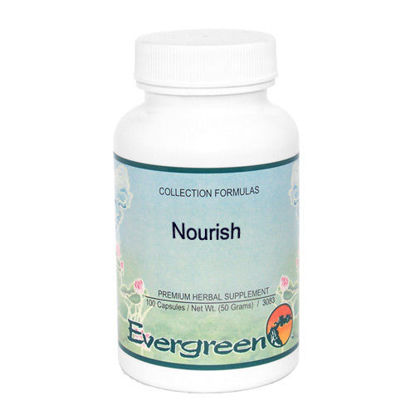 Picture of Nourish - Evergreen Caps 100ct
