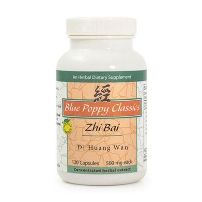 Picture of Zhi Bai Di Huang Wan Caps 120's, Blue Poppy