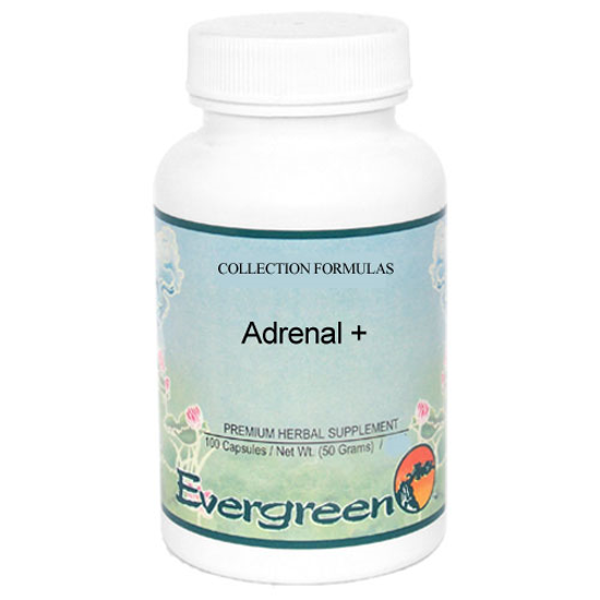 Picture of Adrenal + *Formerly Adrenoplex* - Evergreen Caps 100ct