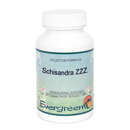 Picture of Schisandra ZZZ - Evergreen Caps 100ct