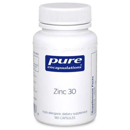 Picture of Zinc 30 180's, Pure Encapsulations