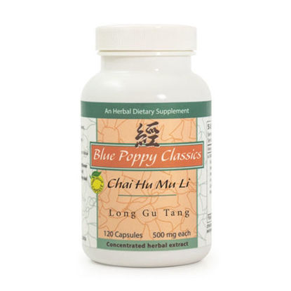 Picture of Chai Hu Mu Li Long Gu Tang Caps 120's, Blue Poppy