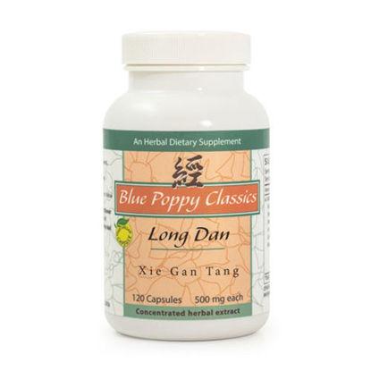 Picture of Long Dan Xie Gan Tang Caps 120's, Blue Poppy