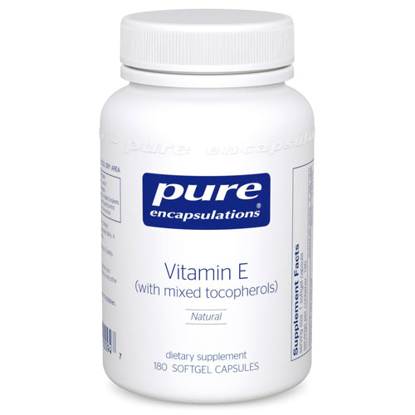 Picture of Vitamin E (with mixed tocopherols) 180's, Pure Encapsulation