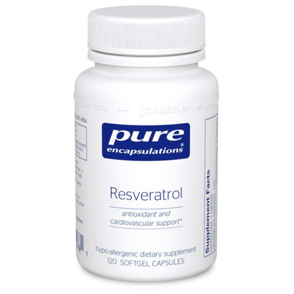 Picture of Resveratrol 120's, Pure Encapsulations