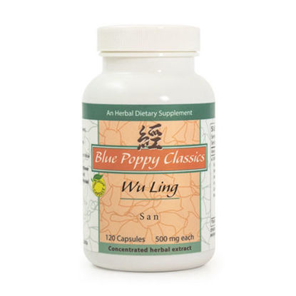 Picture of Wu Ling San Caps 120's, Blue Poppy