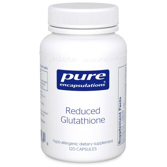 Picture of Reduced Glutathione 120's, Pure Encapsulations