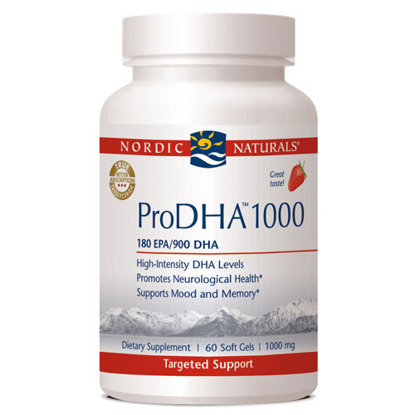 Picture of Nordic Pro DHA 1000 Strawberry 60ct