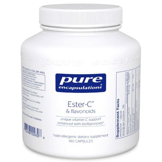 Picture of Ester-C & Flavonoids 180's, Pure Encapsulations