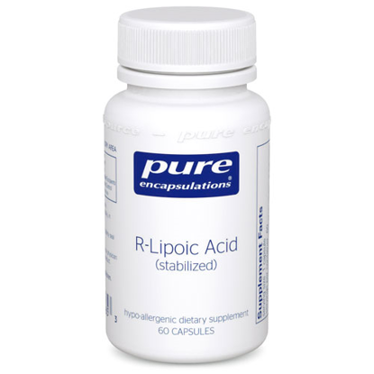 Picture of R Lipoic Acid (stabilized) 60's, Pure Encapsulations