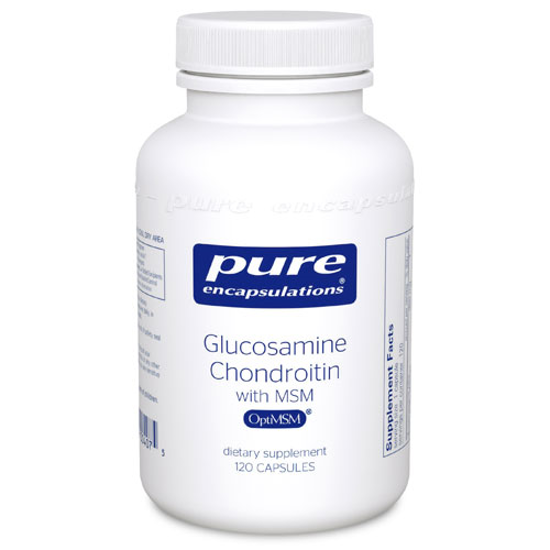 Picture of Glucosamine + Chondroitin MSM, Pure Encapsulation
