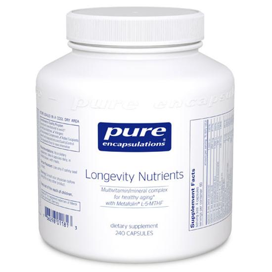 Picture of Longevity Nutrients 240 ct., Pure Encapsulations
