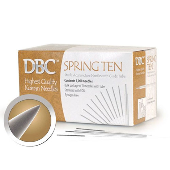 Picture of DBC Spring 10 Bulk Needles 1000's