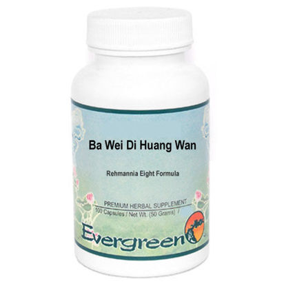 Picture of Ba Wei Di Huang Wan Evergreen Capsules 100's