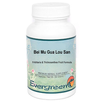 Picture of Bei Mu Gua Lou San Evergreen Capsules 100's