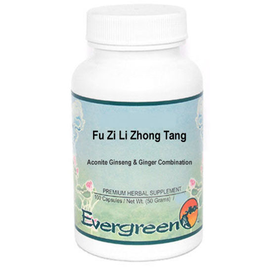 Picture of Fu Zi Li Zhong Tang Evergreen Capsules 100's
