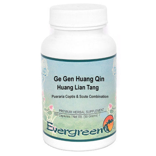 Picture of Ge Gen Huang Qin Huang Lian Tang Evergreen Capsules 100's