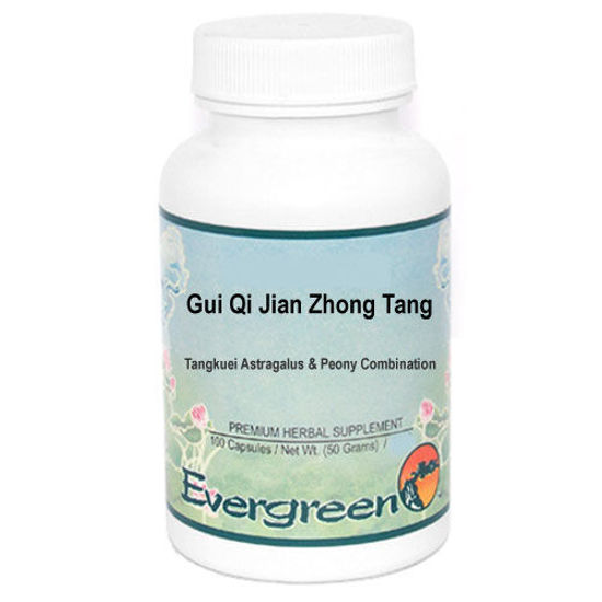 Picture of Gui Qi Jian Zhong Tang Evergreen Capsules 100's