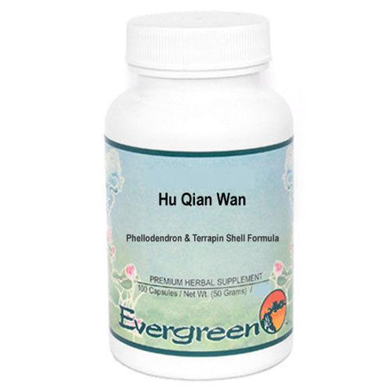Picture of Hu Qian Wan Evergreen Capsules 100's