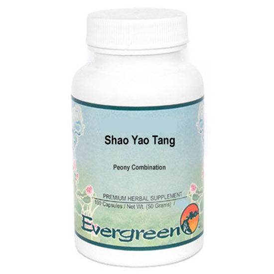 Picture of Shao Yao Tang Evergreen Capsules 100's